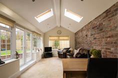 cosy Garden room Image r - gardenroom Cathedral Ceiling, Cosy Living Room, Patio Room, Ceiling Height, Sunroom Designs, Ceiling Design, House, Home Additions, House Extensions