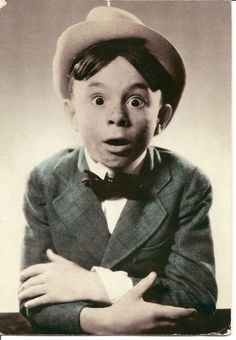 """Carl Switzer - """"Alfalfa"""" - 07Aug 1927 - 21Jan 1951 (died at the age of 31)"""
