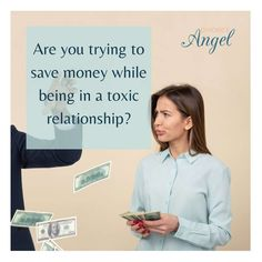 Here's a question for you - Why are you saving money in your toxic relationship? or rather are you trying to save money while being in a toxic relationship? How long do you think you can keep going like this? #toxic #relathionships #Divorce #separation #DivorceAngel #DivorceDesigners #Divorcehelp #FramingYourFuture #divorced #HelpwithDivorce #divorceplanner #personalCEO #DivorcePorjectManger Divorce Process, Toxic Relationships, You Tried, Thinking Of You, Saving Money, Encouragement, Angel, This Or That Questions, Life