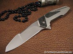 Item Condition: New Handle Material: Titanium/CF Blade Steel: CPM-154 Blade Length: 3 7/8