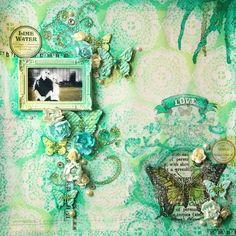 scrapbook layout, Ana paula leal