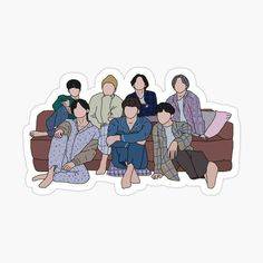 Pop Stickers, Printable Stickers, Macbook Stickers, Korean Stickers, Bts Drawings, Bts Chibi, Line Sticker, Bts Fans, Journal Stickers