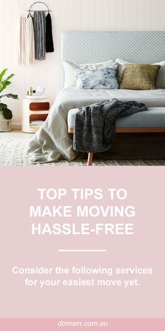 Top tips to make moving hassle-free