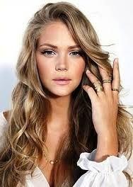 blonde lowlights in brown hair - Google Search