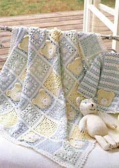 ♡ LOVE THE HEART & BEAR SQUARES! ♥A