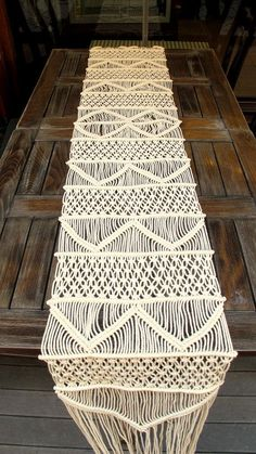 Handwoven Macrame Table Runner, Handmade Wedding Table Runner, Wholesale Wedding…
