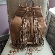 Spotted while shopping on Poshmark: Brand new! Fringe backpack! #poshmark #fashion #shopping #style #Deux Lux #Handbags