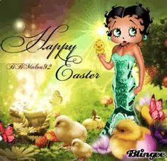 Betty Boop..... happy Easter peeps!