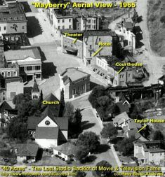 ~The Andy Griffith Show~Fictional town of Mayberry,N.C.