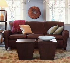 Pottery Barn - Kenya side tables (with removable lids for storage)