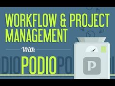 Improve Company Workflow & Project Management With Podio Overview Project Management, Software, Business, Youtube, Projects, Log Projects, Blue Prints, Business Illustration