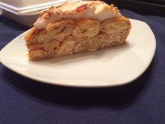 Rákóczi túrós palacsintatorta Recept képpel - Mindmegette.hu - Receptek Apple Pie, Spaghetti, Cake, Ethnic Recipes, Food, Kuchen, Essen, Meals, Torte