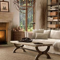 cool 100 Outstanding Rustic Living Room Decor Ideas https://homedecort.com/2017/07/100-outstanding-rustic-living-room-decor-ideas/