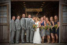 A Virginia Beach Barn Wedding at Fair Winds Farm / Grant and Deb Photography / via @Fab You Bliss