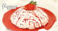 Çilekli Parfe Tarifi Sorbet, Pancakes, Ice Cream, Breakfast, Food, No Churn Ice Cream, Morning Coffee, Icecream Craft, Eten