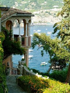 Seaside, Amalfi Coast, Italy photo via fairyhill. So many beautiful places call Italy home! Places Around The World, Oh The Places You'll Go, Places To Travel, Places To Visit, Travel Destinations, Dream Vacations, Vacation Spots, Vacation Places, Wonderful Places