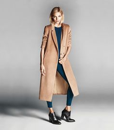 The #1 Coat That Will Make Any Outfit Look Expensive via @WhoWhatWear   forever 21 duster $75