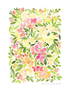 Floral Melody — Yao Cheng Design