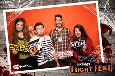 Six Flags Fright Fest.