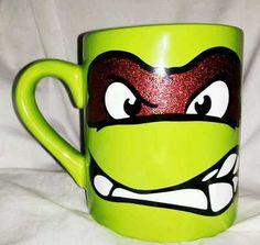 ninja turtle mug