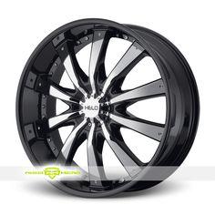 Helo HE875 Black Wheels For Sale - For more info: http://www.wheelhero.com/customwheels/Helo/HE875-Black