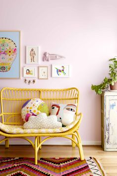 15 Painted Wicker Furniture Ideas To Adorn Your Home 6 Girl Room, Girls Bedroom, Rebecca Judd, Painting Wicker Furniture, Painted Furniture, Rattan Furniture, Garden Furniture, Bedroom Furniture, Outdoor Furniture
