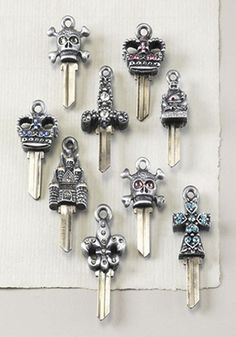 if you've goth to open the door, use a key.