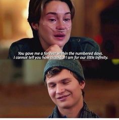 The fault in our stars movie quote #bestscene