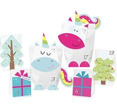 Adventskalender 2018 DIY Adventskalender Einhorn Zauberwald #advent #adventskalender #kalender #dezember #weihnachten #doityourself #diy #christmas #xmas #kalenderselbstgemacht #24.12 #heiligabend #heilig #abend #schnee #winter #kalt #väterchenfrost #weihnachtsmann #santaclaus #santa Advent Calendar, Kids Rugs, Etsy, Holiday Decor, Cards, Home Decor, Winter, Magic Forest, Sticker