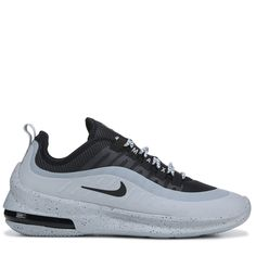 Nike Men's Air Max Axis Sneakers (Black/Wolf Grey) Air Max Sneakers, Shoes Sneakers, Sneakers Fashion, Nike Shoes, Soft Fabrics, Nike Free, Athletic Shoes, Articles, Wolf