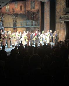 Standing Ovation bei der Premiere von Don Camillo & Peppone Wir sagen DANKE! #viennanow #wearemusical