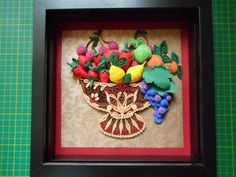 Bowl of Fruit - by: Quilling Ada