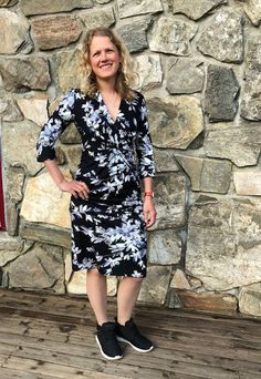 Ellen's Sewing Passion: Dress with Knot! Tight Dresses, Day Dresses, Hand Stitching, Dress Making, Knots, Sporty, Passion, Sewing, Fabric
