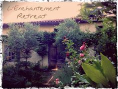 L'Enchantement is the fabulous location for #retreats #creative #workshops #yoga #meditation #harmony #massage