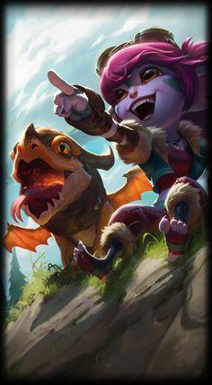 League of Legends- Dragon Trainer Tristana