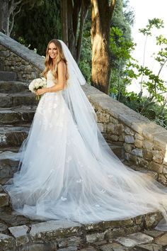 Caroline Wozniacki's Stunning Wedding Dress Is Dreamier Than the Tuscan Sun