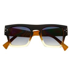 #retro #vintage #sunglasses #shades #flat #top #square #womens #fashion #cute #trendy #gold #funky #celebrity #brown
