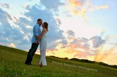 Sunset Engagement Portraits by Simone Epiphany Photography