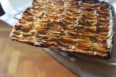 Tarta de manzana de mi abuela. - Hogar y Brasas Cheesecakes, Apple Pie, Sweet Recipes, Waffles, Food And Drink, Cooking Recipes, Sweets, Vegan, Breakfast