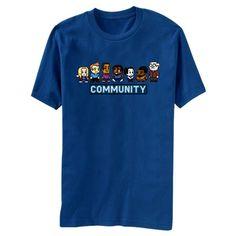 81af615dd46 Community 8 Bit T-Shirt - want!!!!! (For me