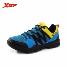 US $24.67 XTEP Original New Mens Outdoor Hiking Shoes Leather Men Climbing Sneakers Breathable Mountain Trial Trekking Shoes 884119609338. Aliexpress product