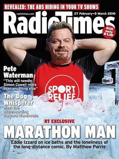 Radio Times Cover 2010-02-27 Eddie Izzard by combomphotos, via Flickr Marathon Man, Ems Humor, Eddie Izzard, Bbc Radio, Random Acts, Man Crush, Comedians, I Laughed, Magazines