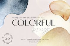 Graphic Projects, Graphic Design Trends, Graphic Design Layouts, Graphic Design Inspiration, Watercolor Brushes, Watercolor Background, Abstract Watercolor, Brush Stroke Png, Brush Strokes
