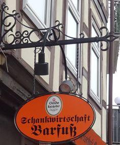 Hannover - Leinstrasze - Schankwirtschaft Barfusz