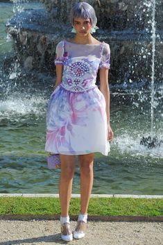 Chanel Resort 2013 Fashion Show - Cora Emmanuel