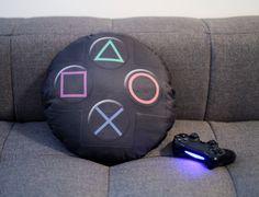 Almofada Criativa Joystick Playstation | Essencial para quem ama video game |