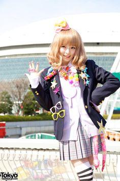 Kyary Pamyu Pamyu Tokyo Dome City-Love her. My fav. Japanese singer