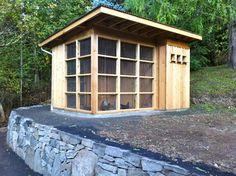 Erickson Residence (Design + Build) - contemporary - garage and shed - portland - Pistils Landscape Design + Build