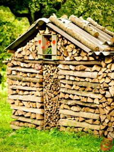 woodpile art