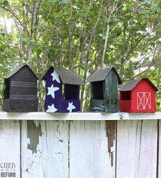 pallet bird feeder